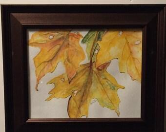 Leaves Original Watercolor