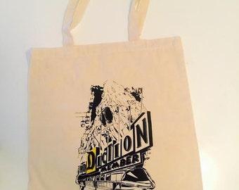 SMALL canvas DA tote bag!