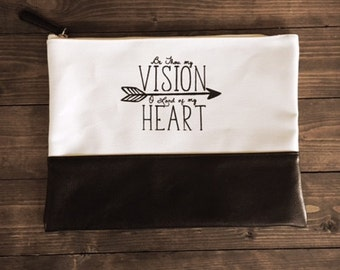 Be Thou My Vision Bible Clutch