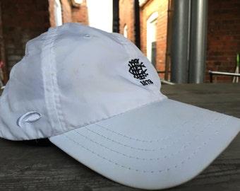 90s Vintage 1878 Lightweight Dad Hat - White