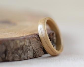 Oak Classic bentwood ring