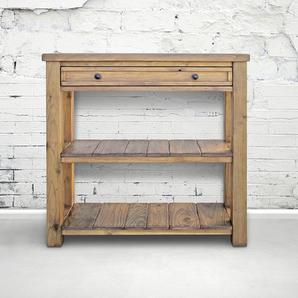 Table Console Table Reclaimed Wood Sofa Table Media