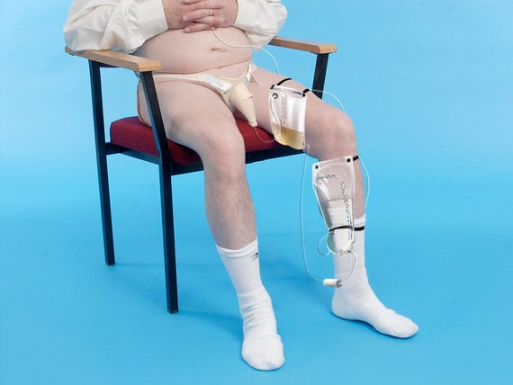 Urine to Drinking Water DISCRETE conversion system (Form Fitting, able to be hidden under pants) Incontinence to hydration