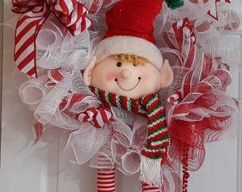 It's an Elf  Holiday Wreath