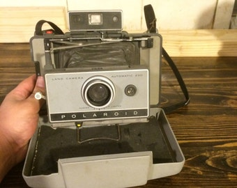 Vintage Old Polaroid Camera