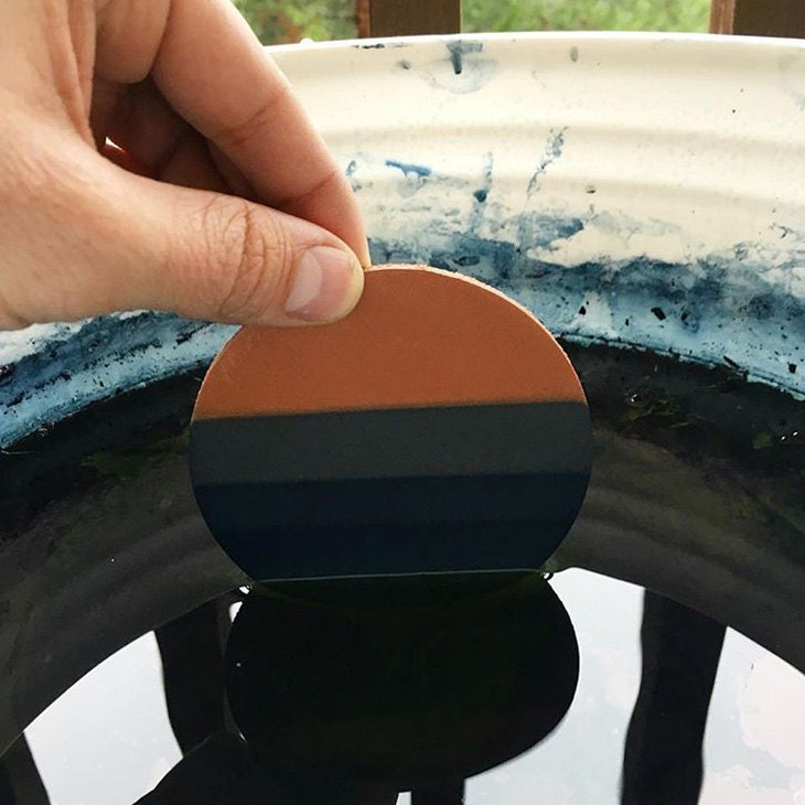 My first real Indigo dyed product.