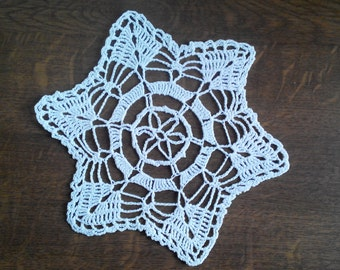 Serviette crochet Christmas/Doily crochet Christmas