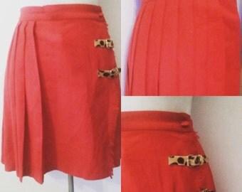 Stunning vintage tailored wool skirt