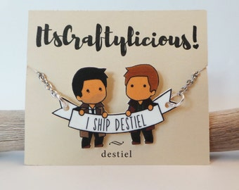 Destiel Necklace