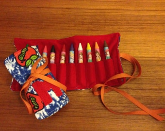 Custom Crayon Roll