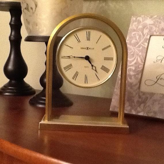 Howard Miller Tabletop Clock