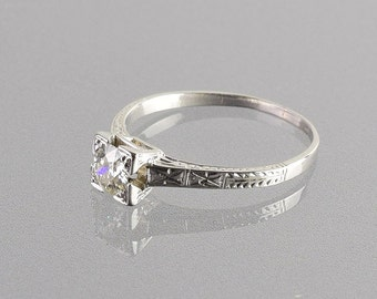 0.50 Carat Diamond Engagement Ring
