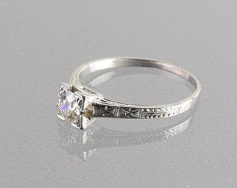 0.50 Carat Diamond Engagement Ring