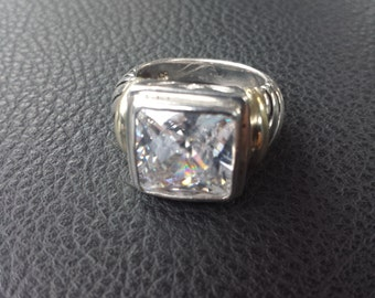 Sterling Silver .925 CZ Ring