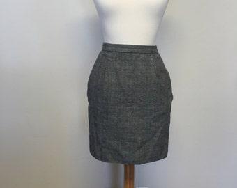 Vintage 40s secretary skirt size x-small