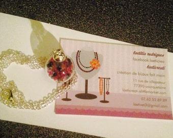 bubble necklace Pearl