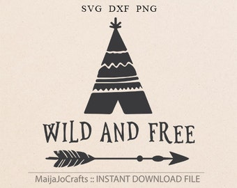 TeePee svg Wild SVG files for Silhouette svg files Tribal svg files Png Cricut downloads cutting file Sayings svg cricut files arrow svg