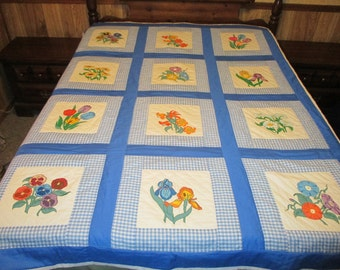 Full or twin size quilt