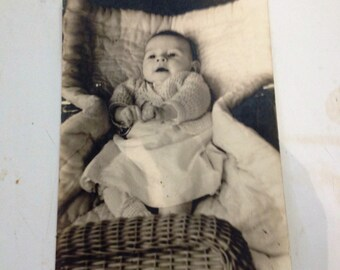 Vintage Baby Boy Photo, Baby Boy Vintage Photo, Vintage Photo, Antique Photo, Vintage Baby Photo