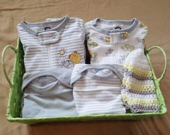 Gender Netrual Baby Gift Basket