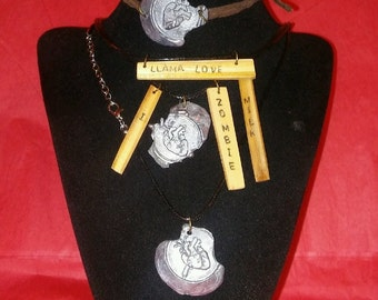 Unique handmade pendants