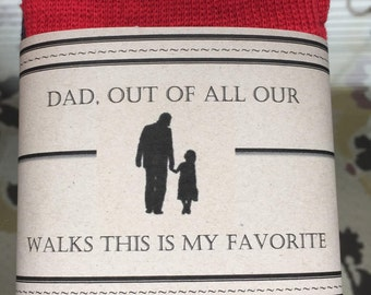 Father of the Bride Socks Label (label only)