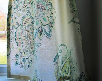 Custom Cafe Curtain Your Fabric