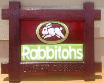 Rabbitohs Wall Plaque