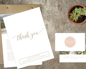 Photography Modern Welcome Packet-Presentation Portfolio package-Accordion Mini Card Template-Trifold Brochure-Wedding Templates