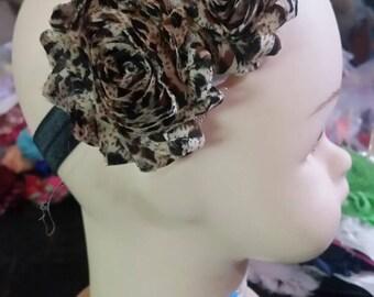 Cheetah print flower