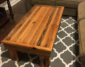 Reclaimed Cypress Coffee Table