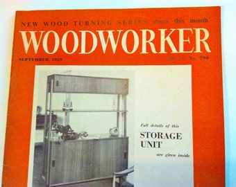 Sept 1959, Woodworker magazine, vintage woodworker magazine, vintage mens magazine, vintage magazine, woodcarving, carving, DIY, advertising