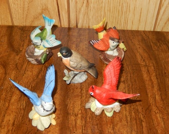 Porcelain Bird Collection