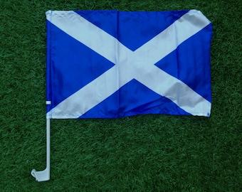 Scotland Car Window Flag