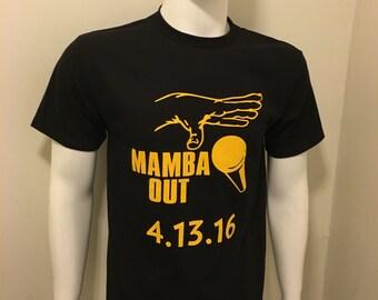 Kobe Bryant Mamba Out T-shirt