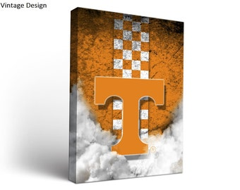 Tennessee Vols Volunteers Canvas Wall Art