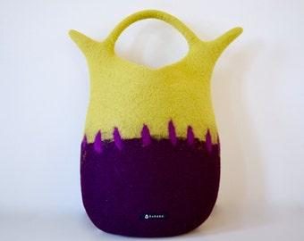 Sea slug bag * yellow