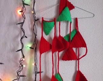 Flags woven hand wreath