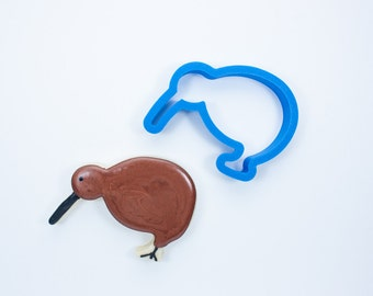 Kiwi Bird Cookie Cutter | Bird Cookie Cutters | Animal Cookie Cutters | Mini Cookie Cutters | Unique Cookie Cutters | Custom Cookie Cutters