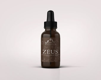 Zeus: A beard oil worthy of the gods