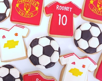 Manchester United Cookies