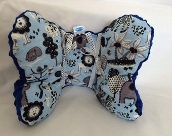 Gift wrapped kids travel pillow