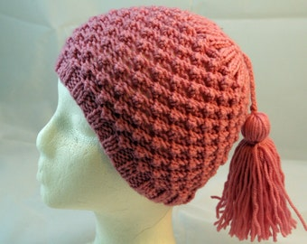 girl hat with tassel