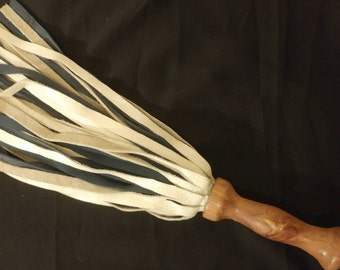 Thuddy Red White and Blue Flogger - Handcrafted here in the USA