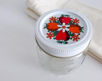 Vintage 8oz Kerr Jelly Mason Jar