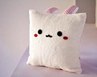 Cute Bunny Pillow : Kawaii bunny plush Etsy