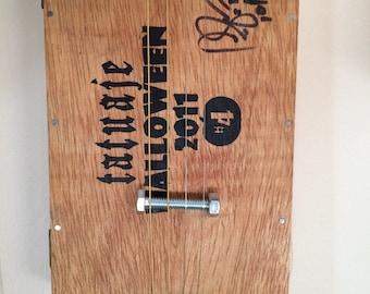 Acoustic 4 String Cigar Box Slide Guitar #6