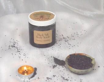 Black Salt Scrub