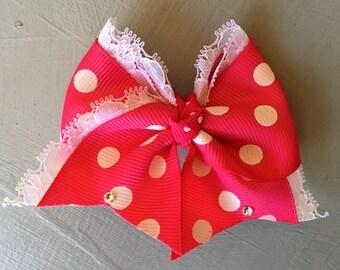 Mini Pink Polka Dots