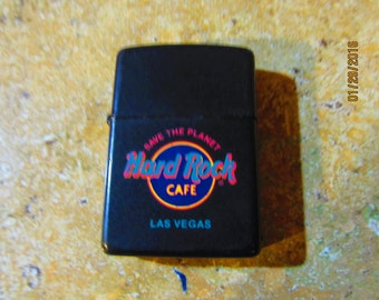 vintage Zippo Hard Rock Cafe Las Vegas